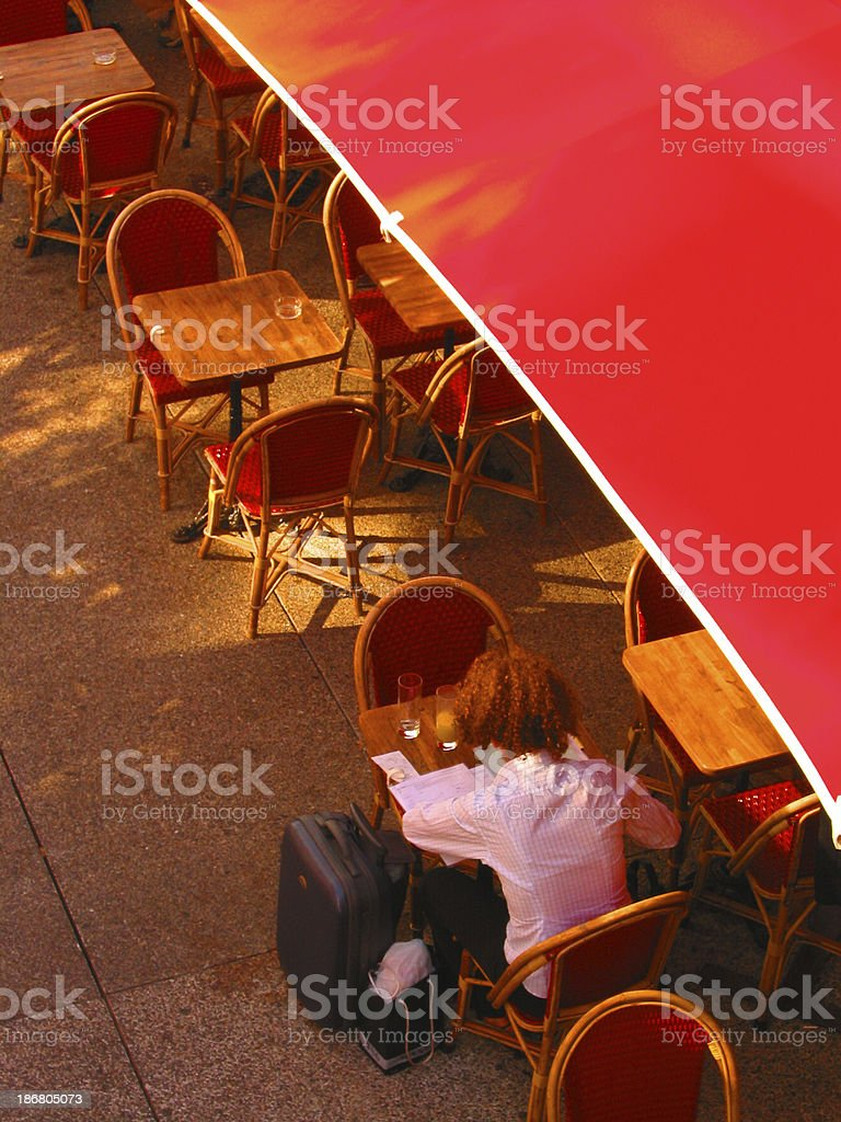 Cafe Break royalty-free stock photo