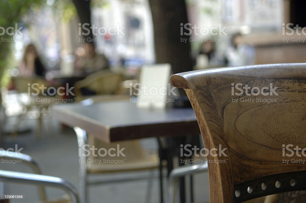 cafe culture 2 royalty-free stock photo