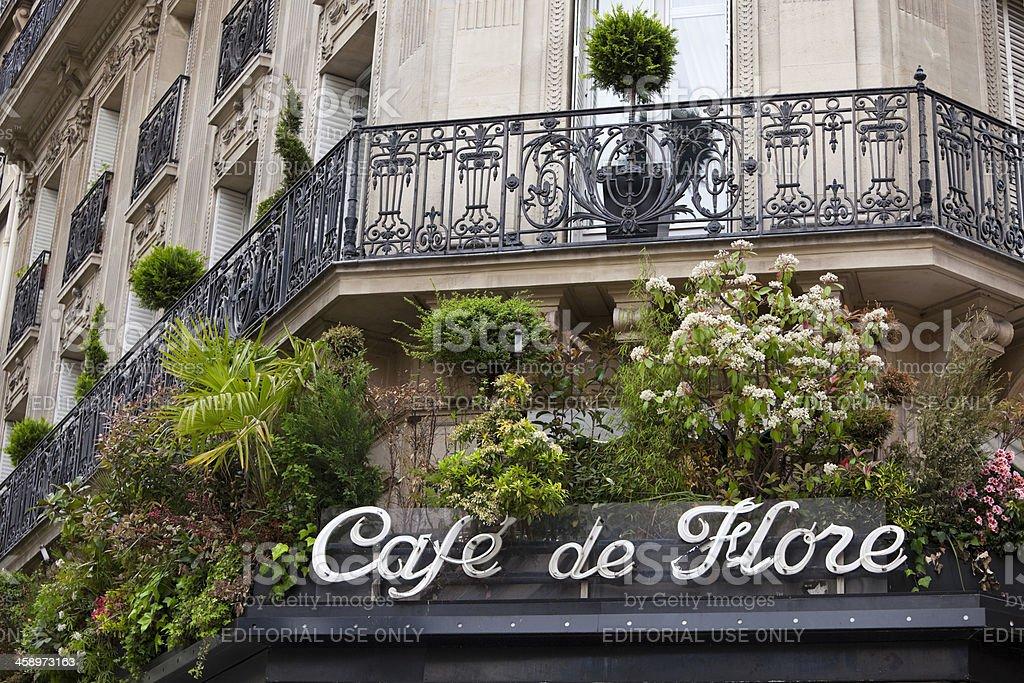 Cafe de Flore, Saint Germain, Paris, Frankreich – Foto