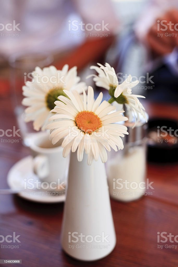 Cafe decoration royalty-free stock photo