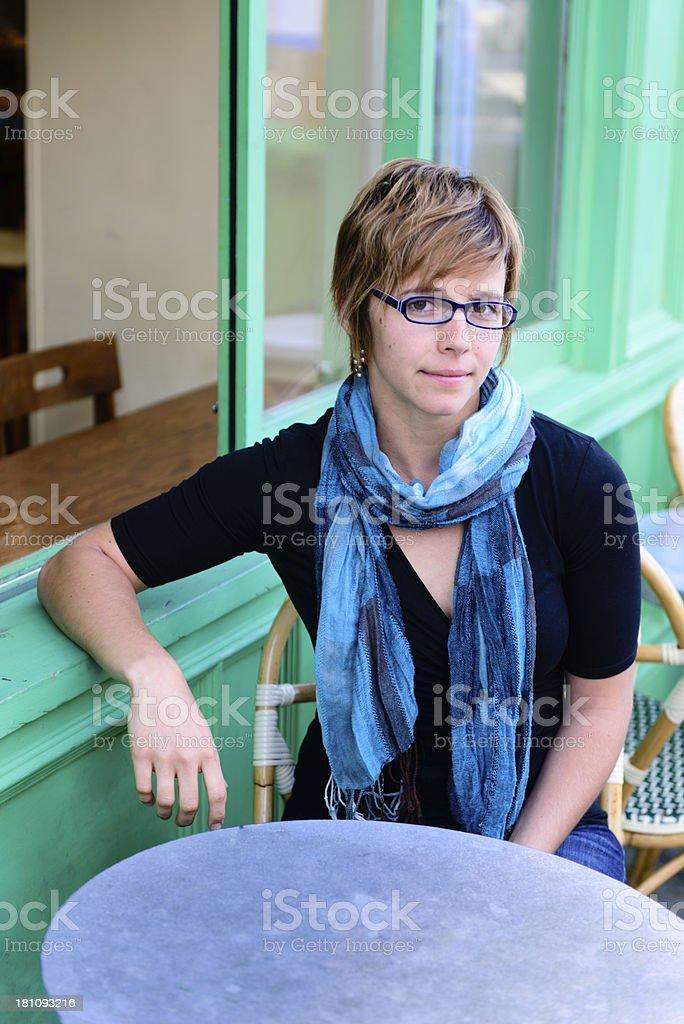 Cafe - Dramatic royalty-free stock photo