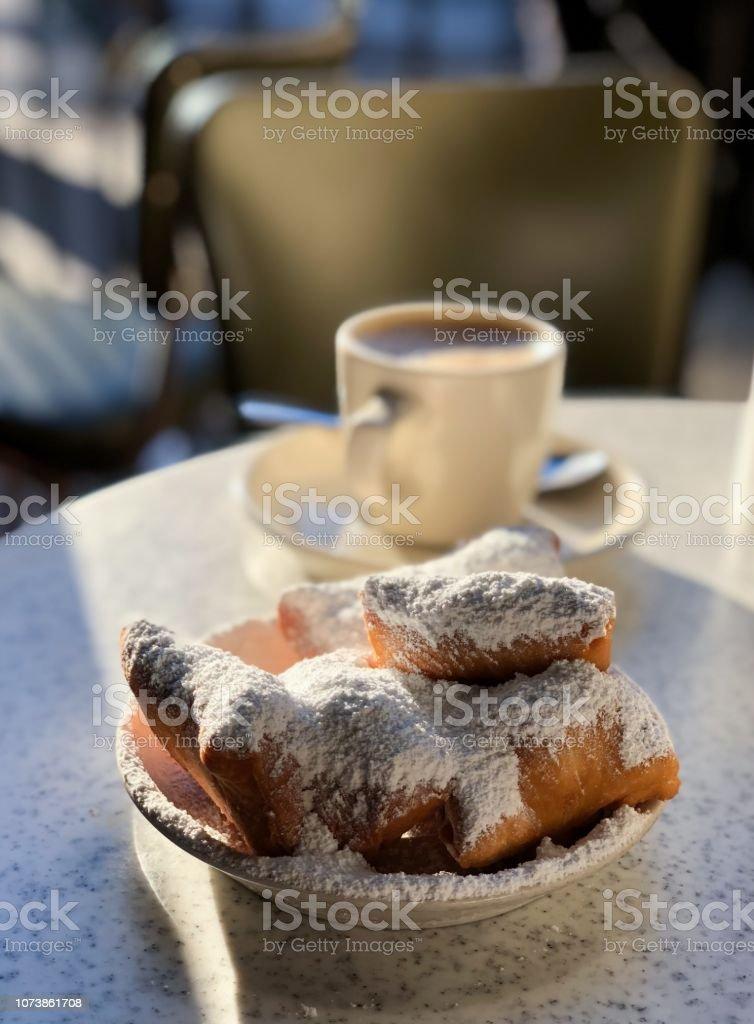 Cafe Du Monde stock photo
