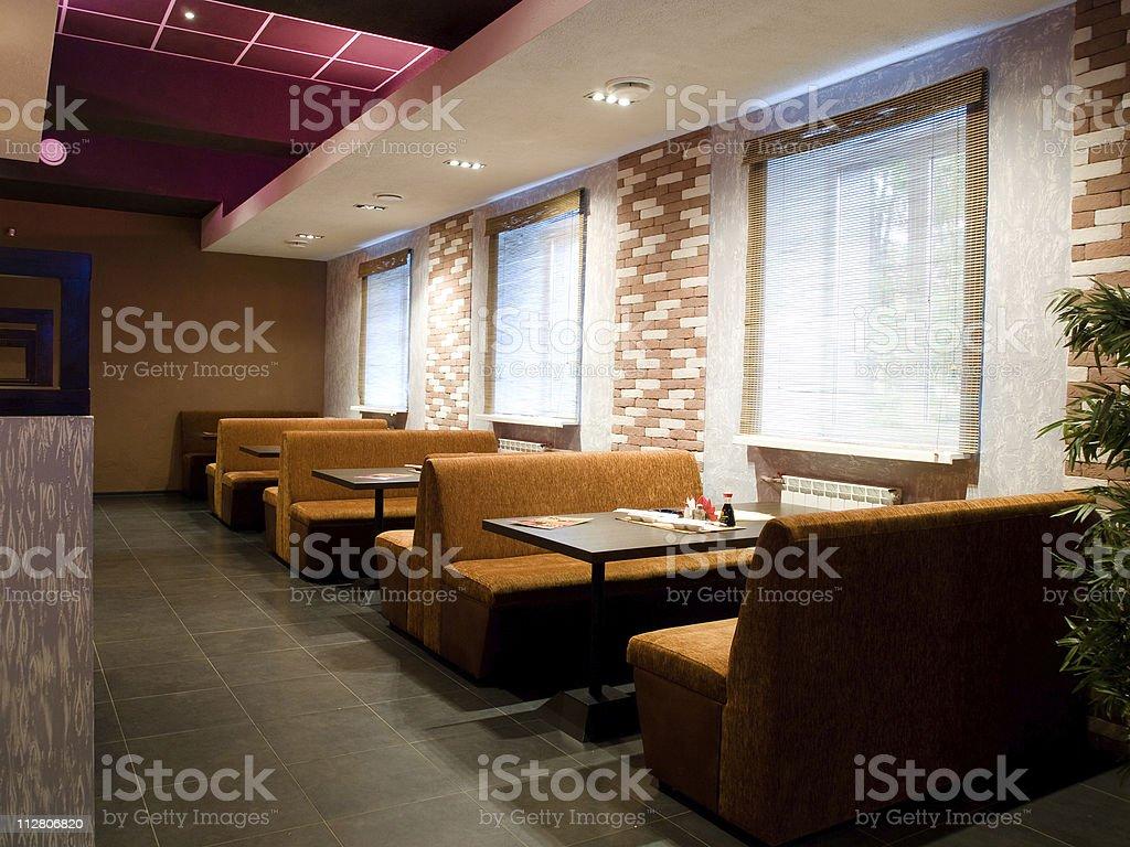 Cafe-Einrichtung - Lizenzfrei Café Stock-Foto