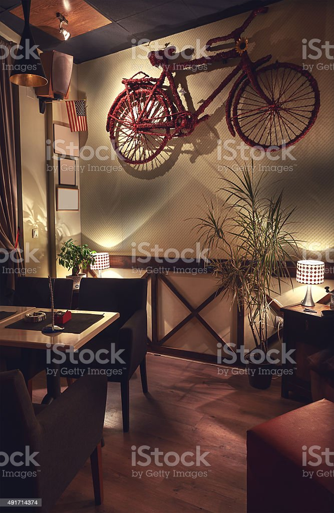 Cafe Interior Retro Design Stock Photo Download Image Now Istock