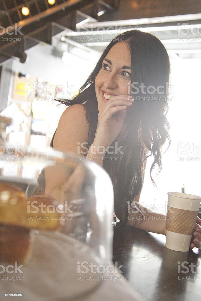 Cafe Life royalty-free stock photo