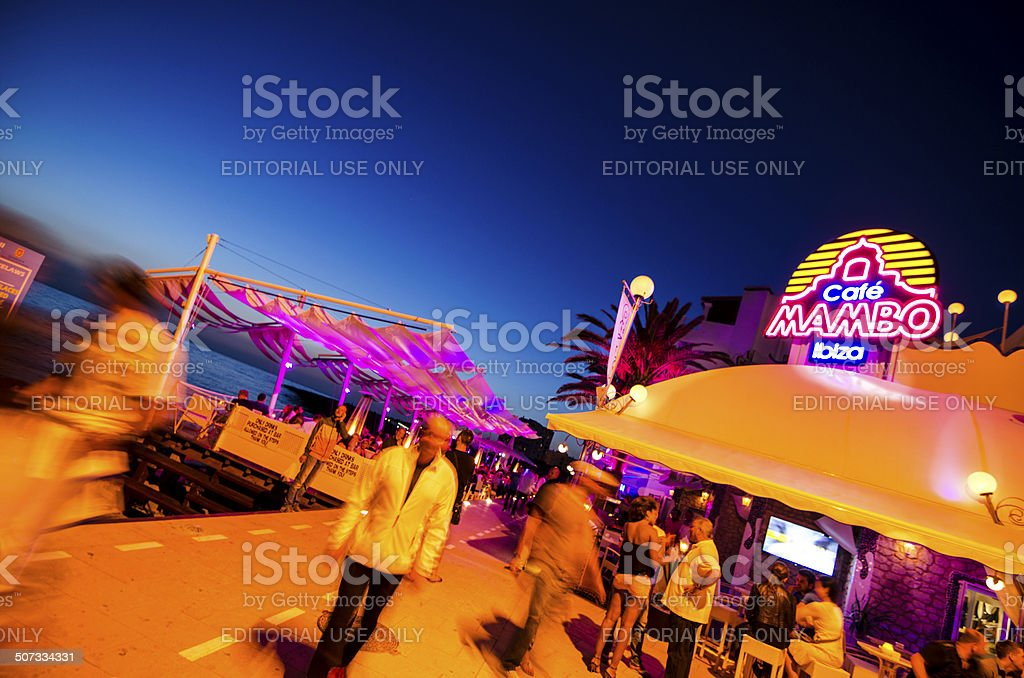 Cafe Mambo stock photo