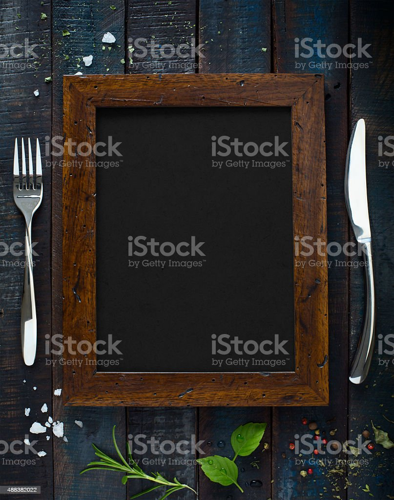 Cafe menu restaurant brochure. Food design template stock photo