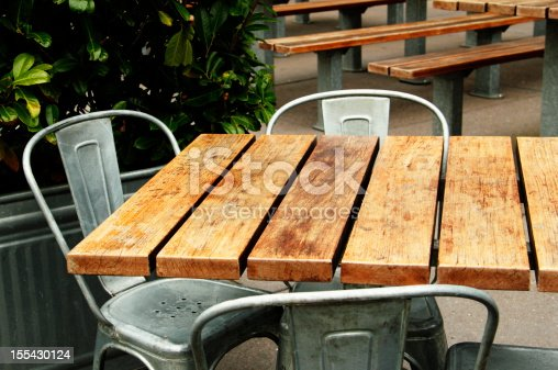 Outdoor casual dining.