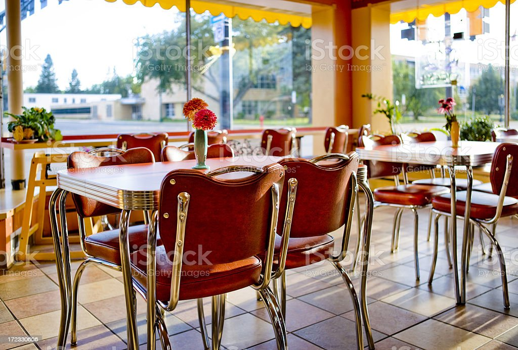Cafe stock photo