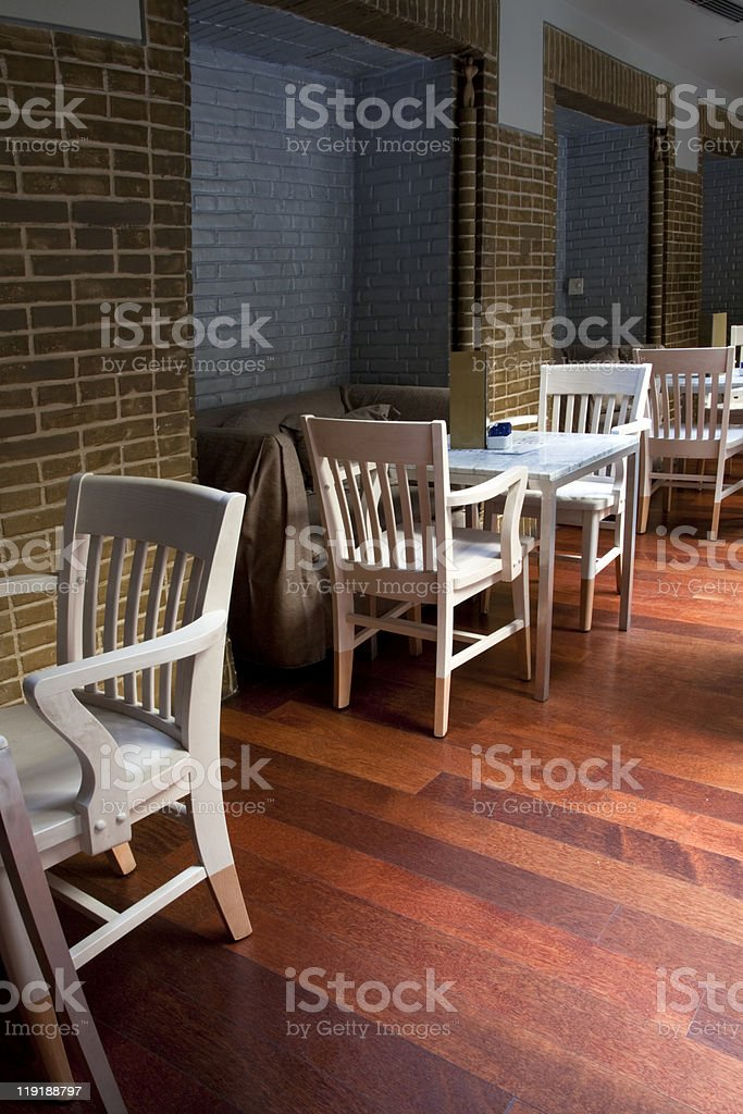 Cafe - restaurant indoor royalty-free stock photo