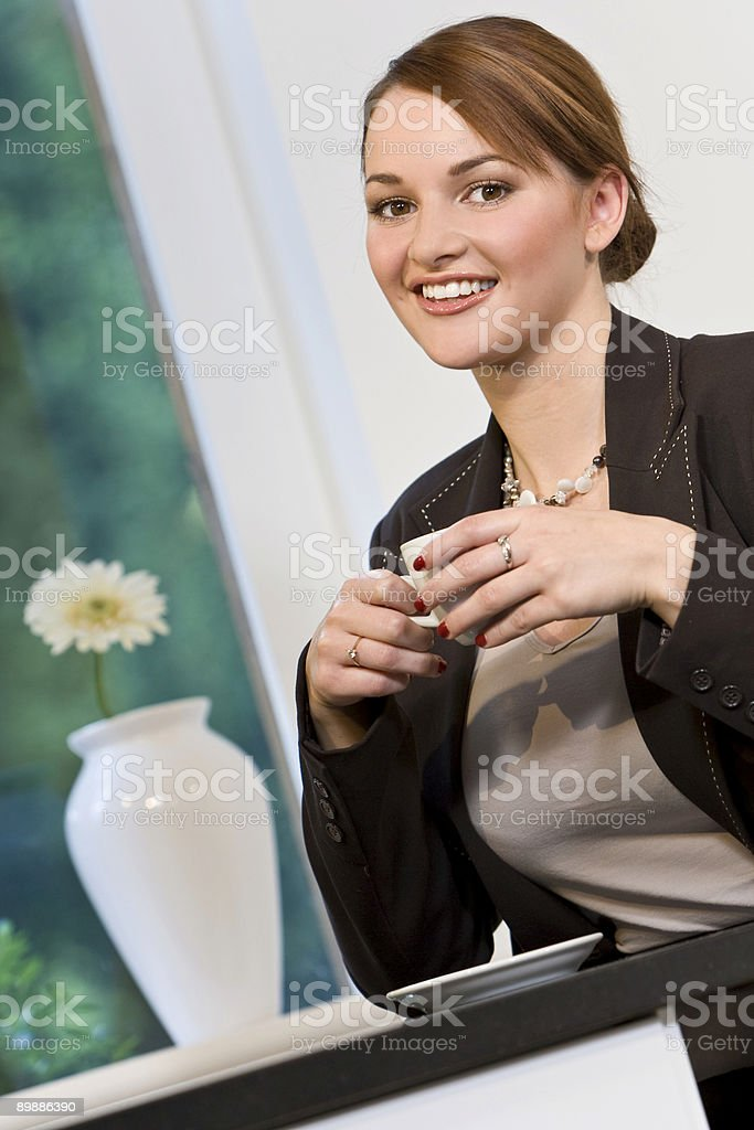 Cafe Society royalty free stockfoto