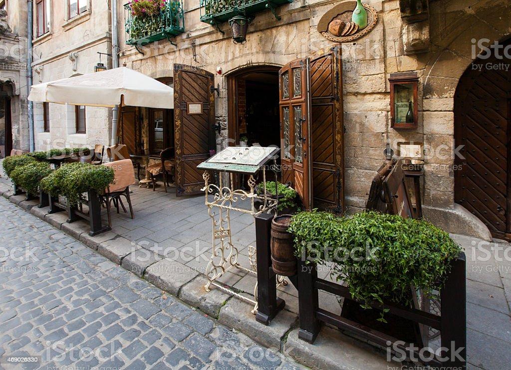 cafe9 stock photo