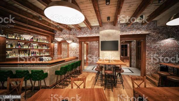 Caferestaurantpub interior design computer generated image 3d picture id1206155066?b=1&k=6&m=1206155066&s=612x612&h=hvwnj  jyf0is5ib 4ew9urpp7tfcyvomlzh6ofi0hw=