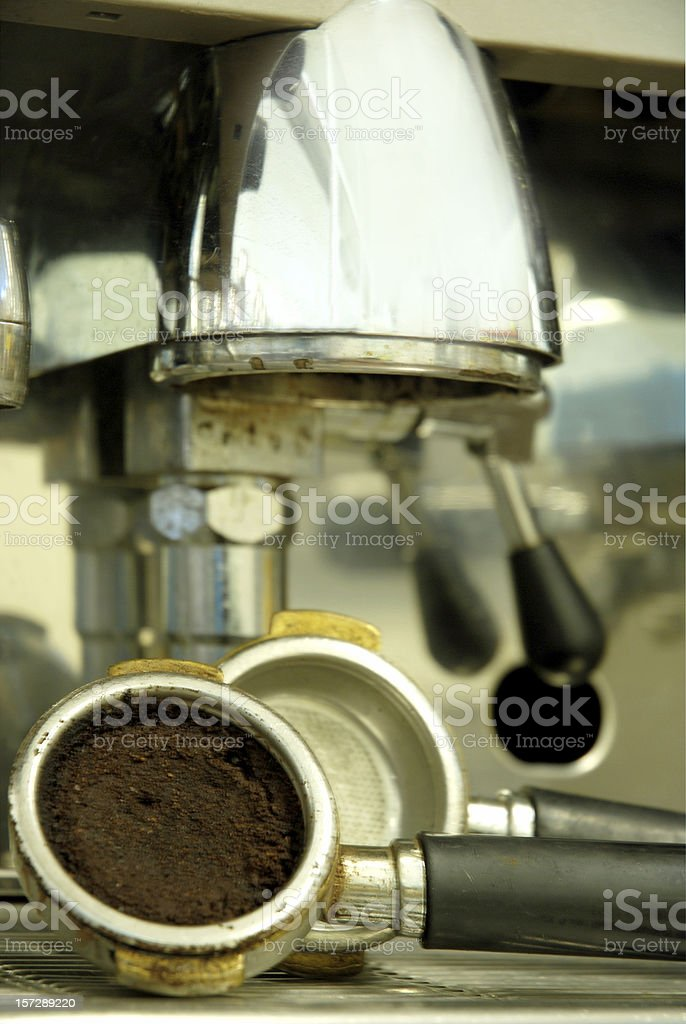 Cafetera exprés royalty-free stock photo