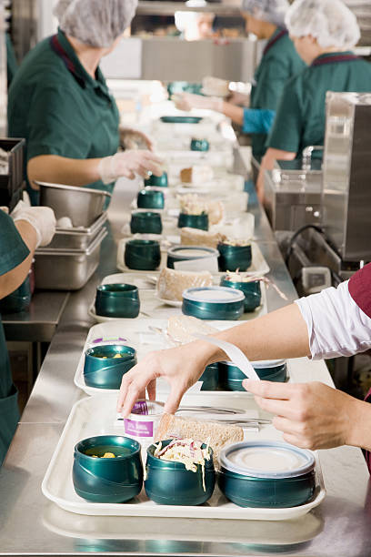 12 582 School Cafeteria Kitchen Stock Photos Pictures Royalty Free Images Istock