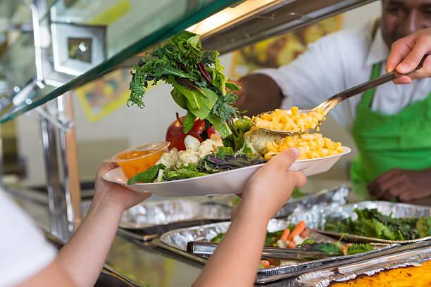 Cafeteria worker serving healthy food to elementary school students picture id501341353?b=1&k=6&m=501341353&s=612x612&w=0&h= 4fs6rci7jt9cderlswiexxzxmmfxsizwhfvusy6o6a=