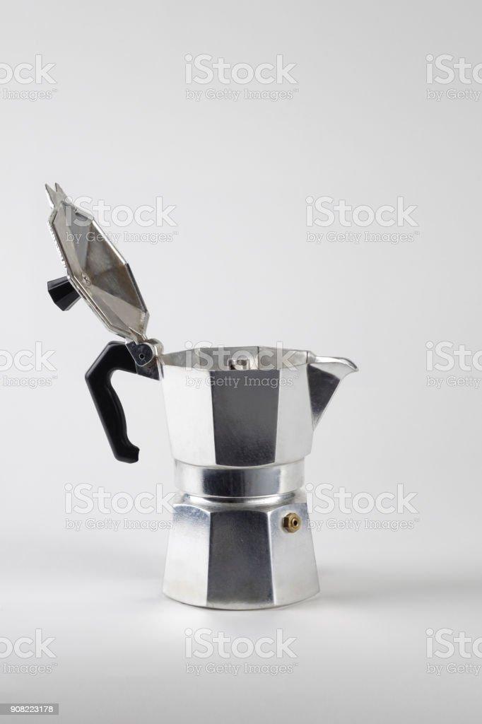 Caffè Moka abierto - foto de stock