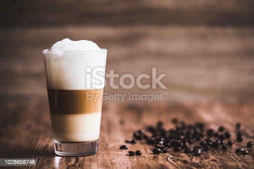 istock Caffe latte layered 1028658748