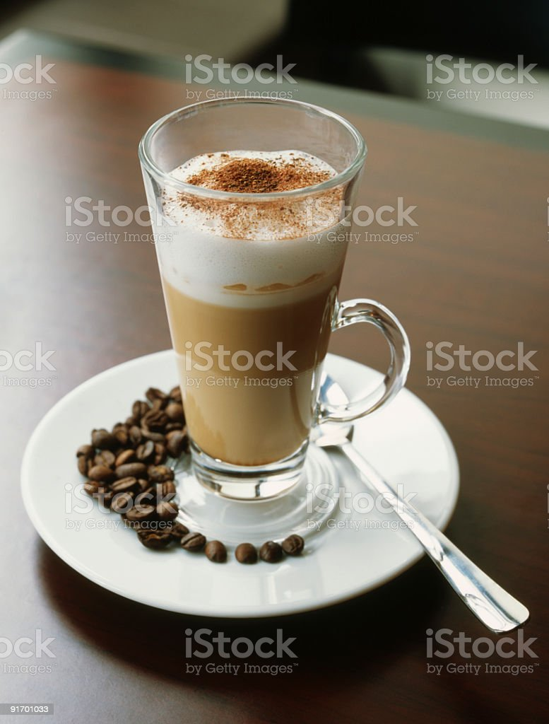 Caffe Latte XL! royalty-free stock photo