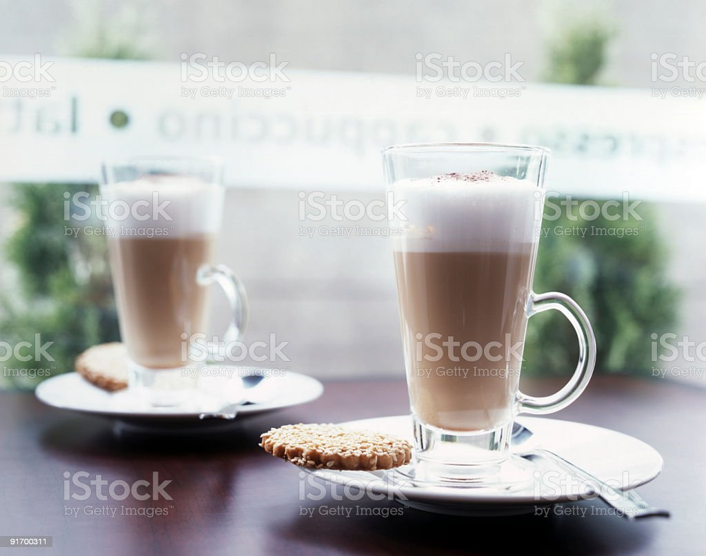 Caffe Latte XXL! royalty-free stock photo
