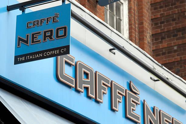 caffe nero coffee shop zeichen - beckenham town stock-fotos und bilder