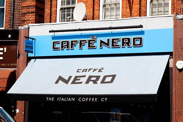caffe nero der beschilderung shop - beckenham town stock-fotos und bilder