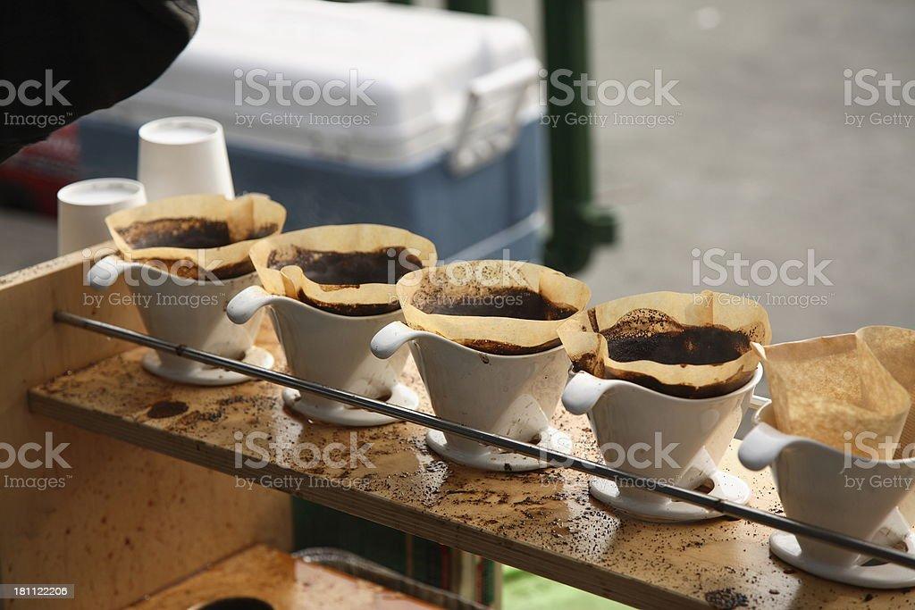Caffeinated: Drip Coffee stock photo