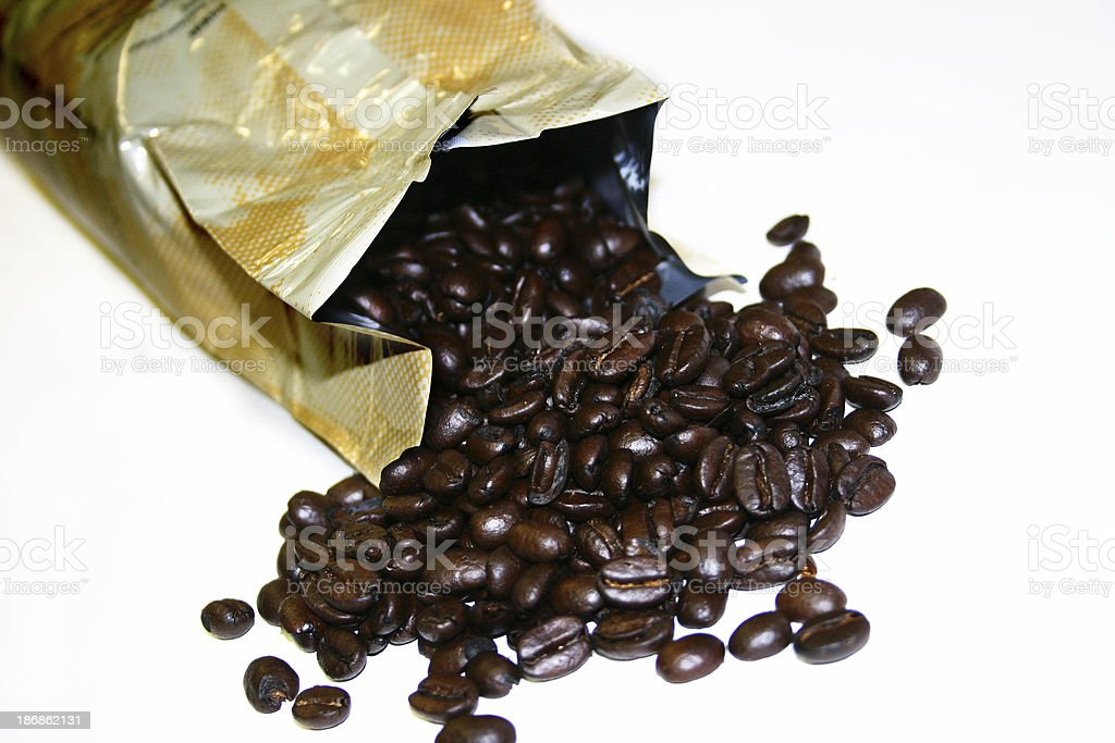 Caffeine Beans royalty-free stock photo