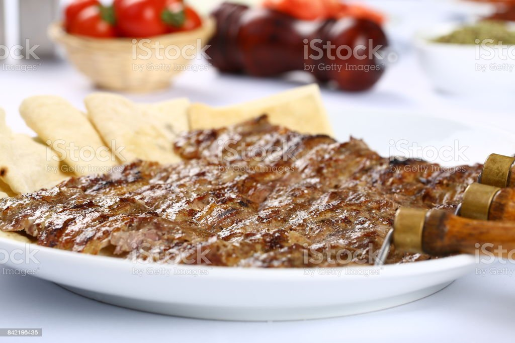 Cag Kebab stock photo
