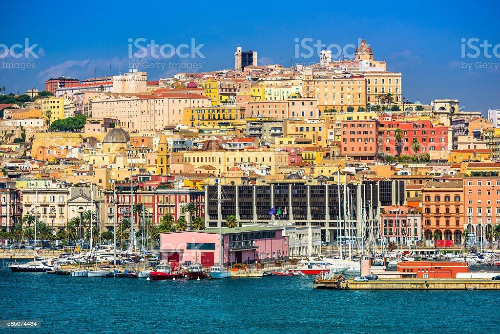 Cagliari, Sardinia, Italy stock photo