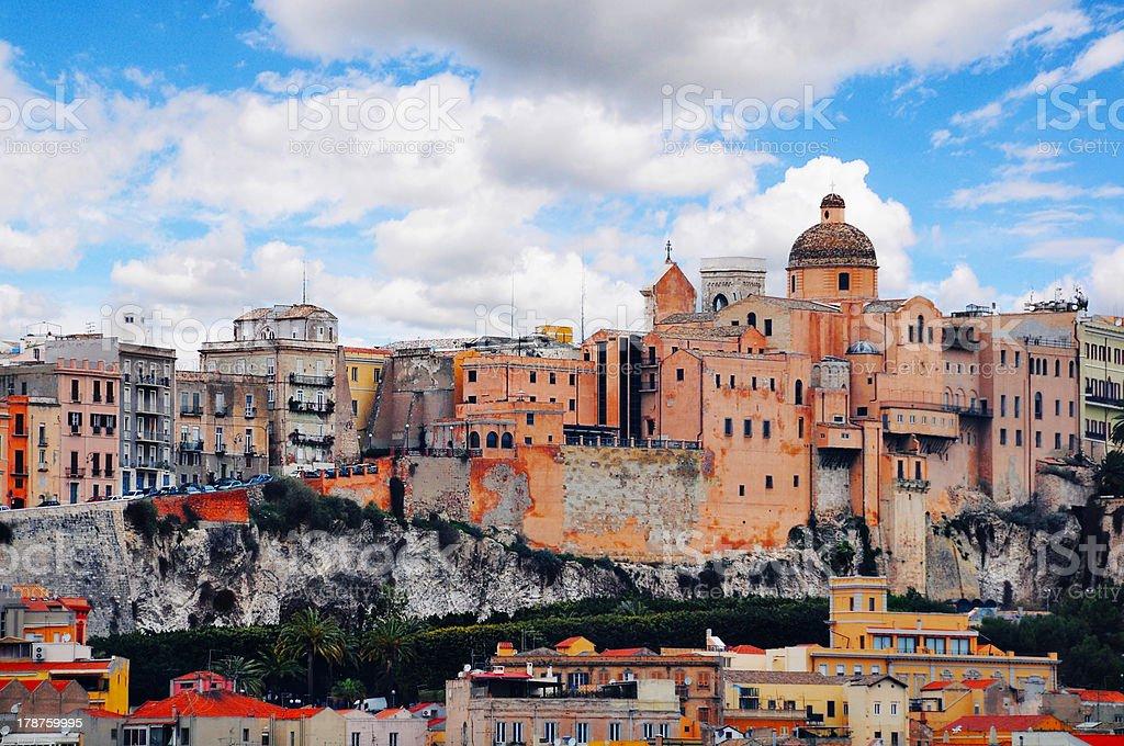 Cagliari Sardinia stock photo