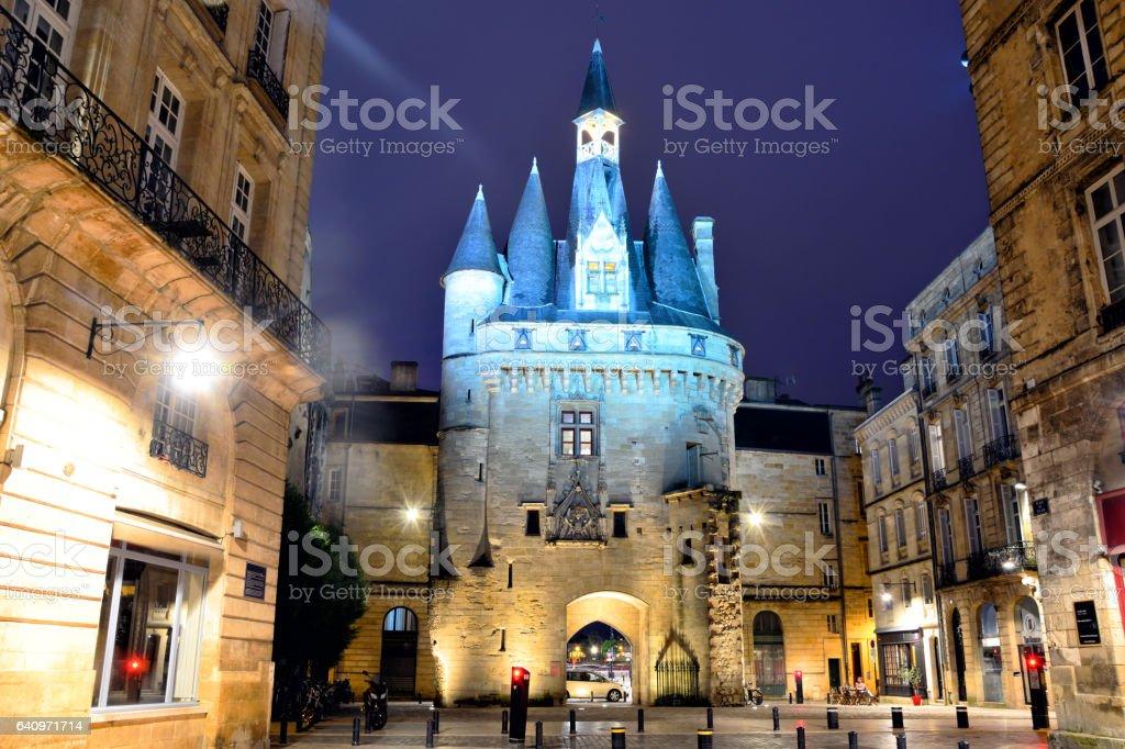 Porte Cailhau à Bordeaux, France - Photo