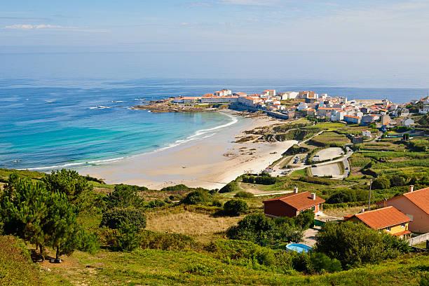Caion, Galicia. Spain. stock photo