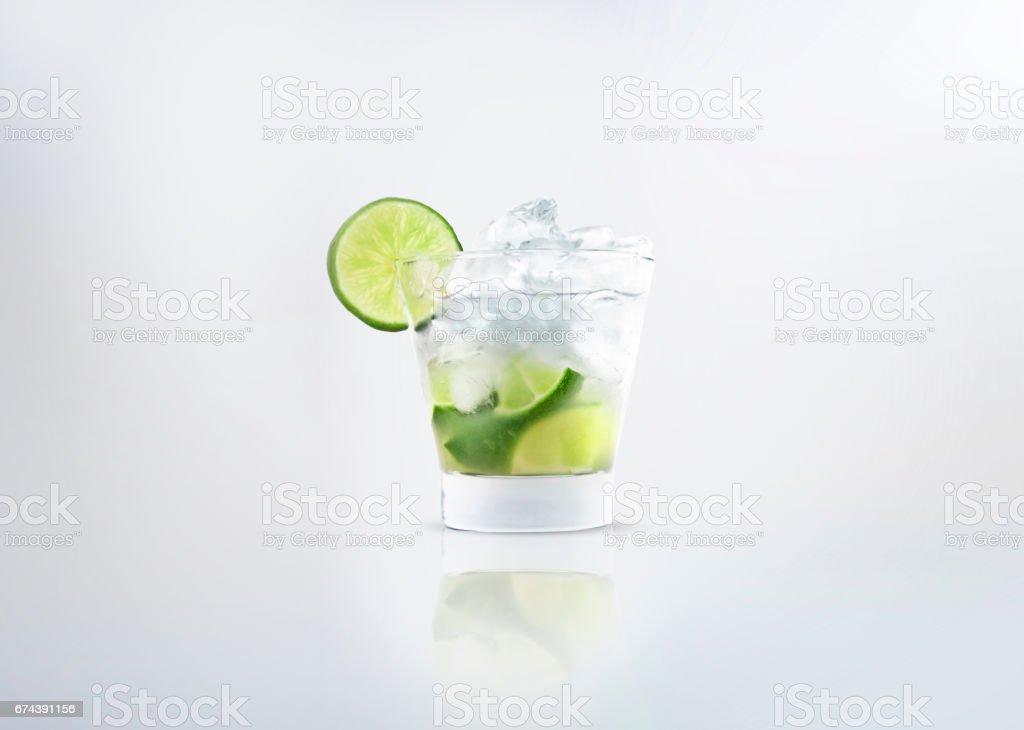 Caipirinha or mojito drink stock photo
