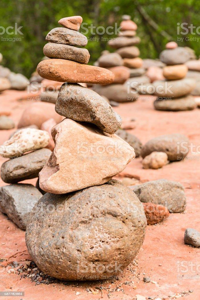 Cairn Balance stock photo