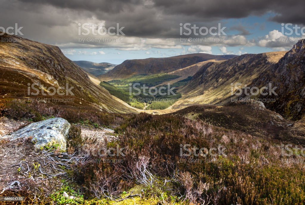 Cairn Broadlands stock photo