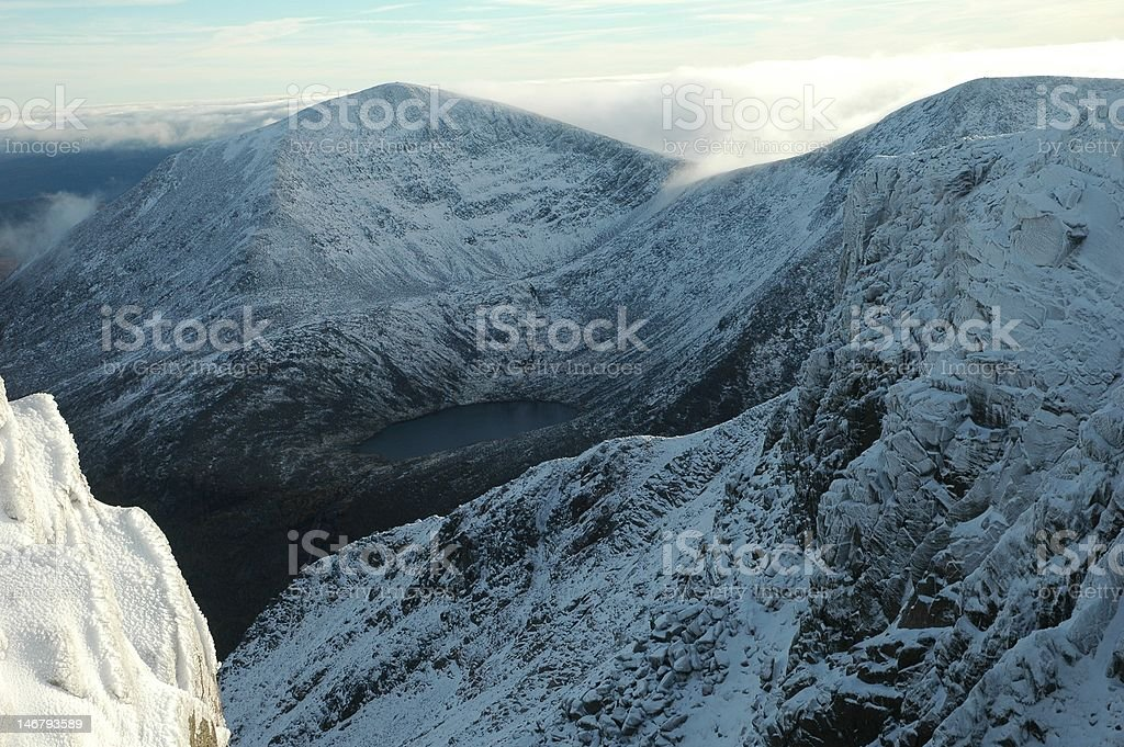 Cairngorm Mountains, Scotland stock photo