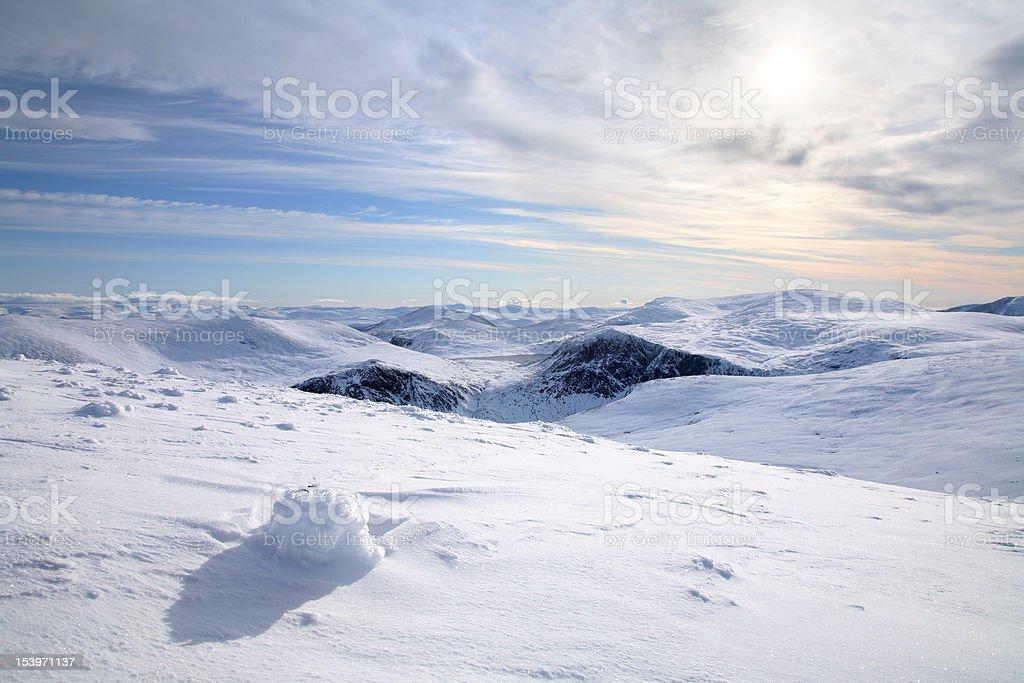 Cairngorm Plateau stock photo