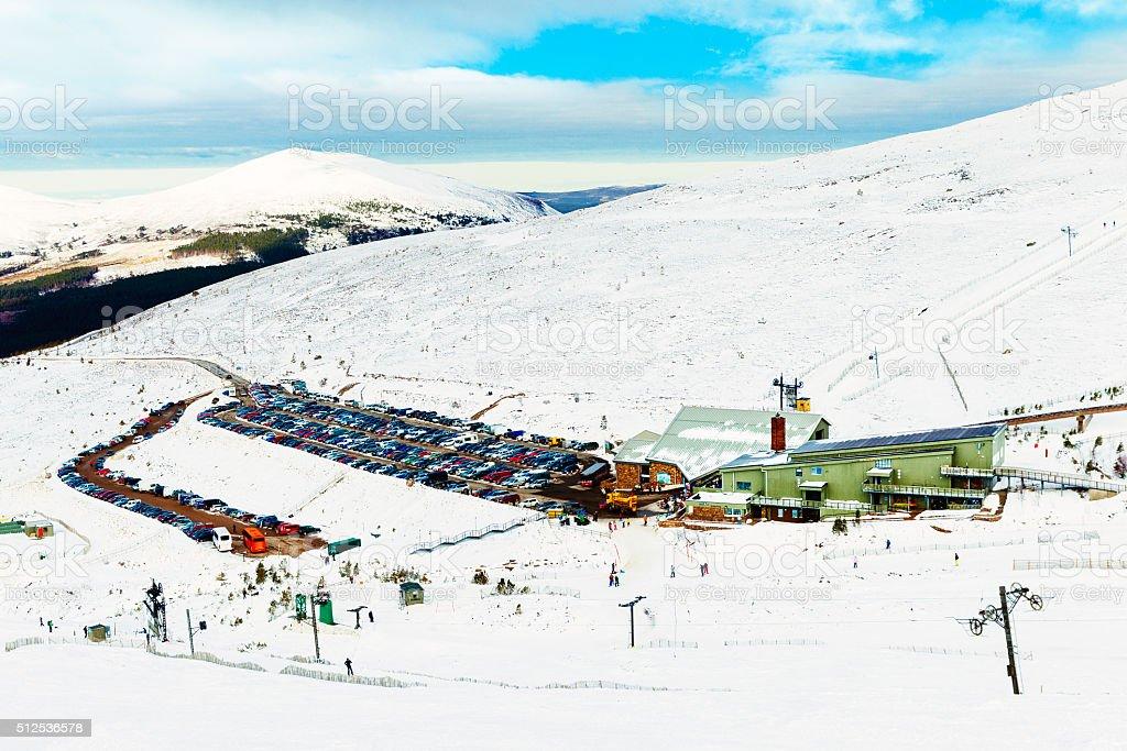 Cairngorm Ski Resort, Scotland stock photo