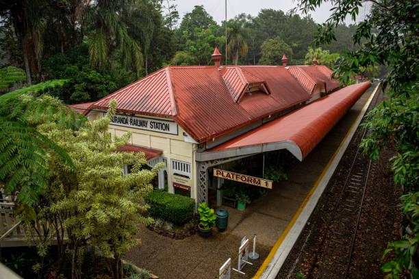Cairns - Kuranda Train Station stock photo