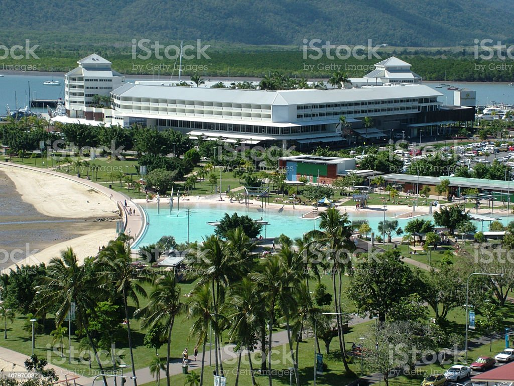 Cairns Lagoon stock photo