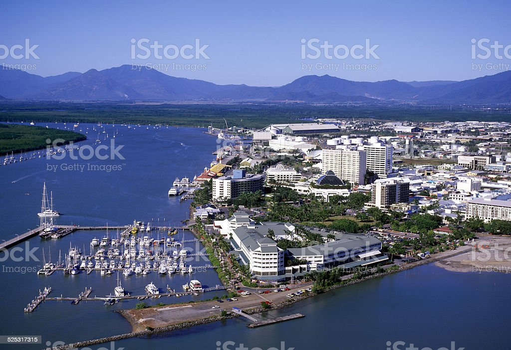 Cairns stock photo