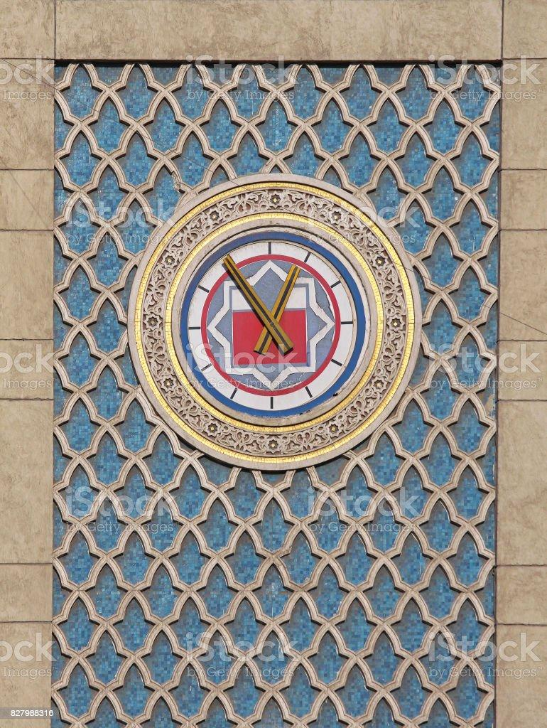 Cairo clock stock photo