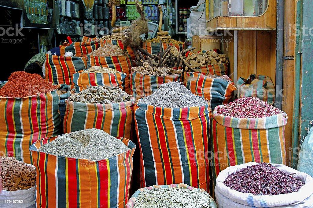 Cairo market royalty-free stock photo