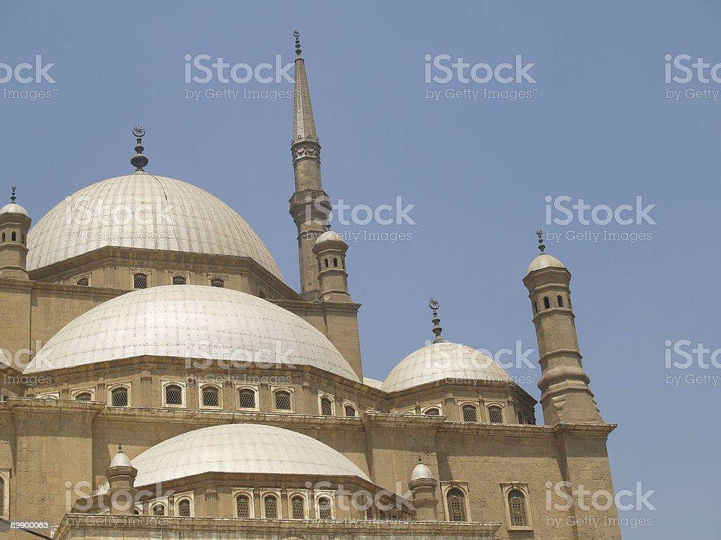 Cairo. Muhammad Ali mosque royalty-free stock photo