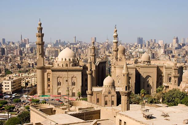 skyline von Kairo, Ägypten – Foto