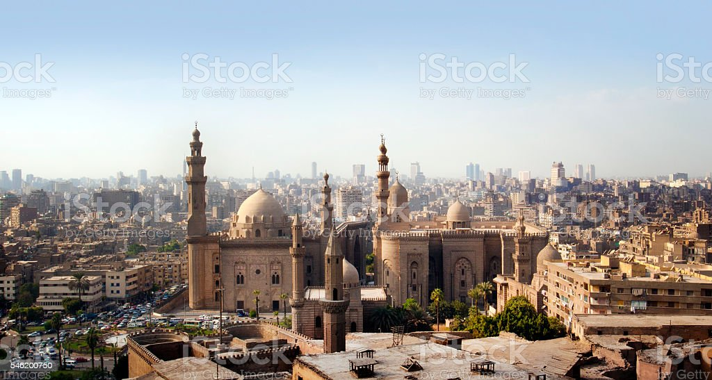 Cairo skyline, Egypt stock photo