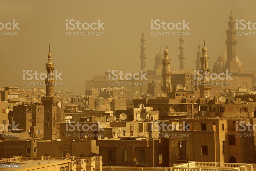 cairo skyline royalty-free stock photo