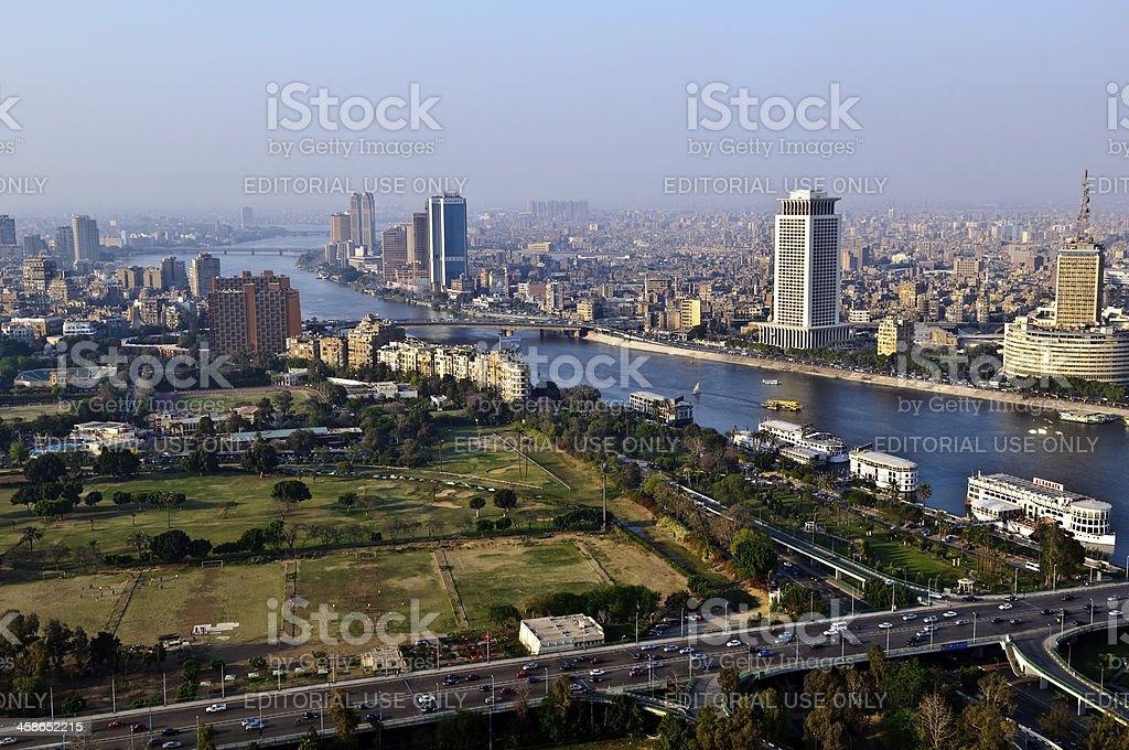 Cairo skyline royalty-free stock photo