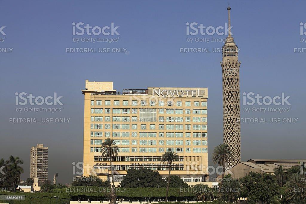 Cairo Tower stock photo